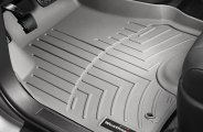 WeatherTech® 463001 - DigitalFit™ Molded Floor Liners (1st Row, Gray)