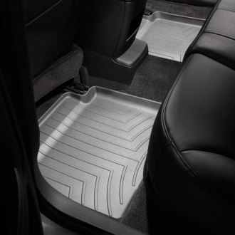 Image may not reflect your exact vehicle! WeatherTech� Molded Floor Liners - 2nd Row, Gray