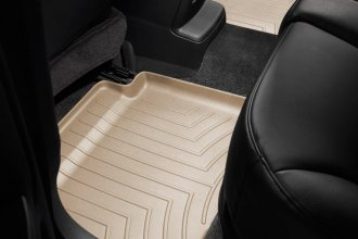 WeatherTech® 453602 - DigitalFit™ Molded Floor Liners (2nd Row, Tan)