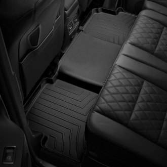 WeatherTech® - DigitalFit™ 2nd Row Black Molded Floor Liner