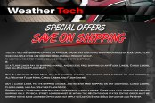 Weathertech Special Offers
