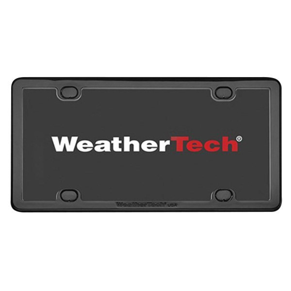WeatherTech® 61020 - PlateFrame™ Black License Plate Frame