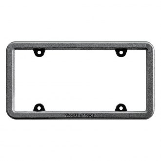WeatherTech® - BumpFrame™ Black License Plate Frame