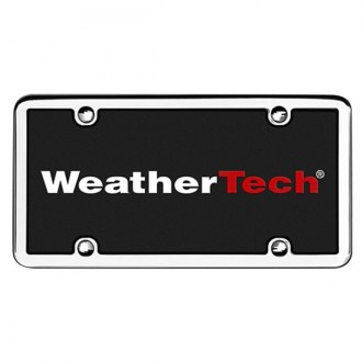 WeatherTech® - StainlessFrame Chrome License Plate Frame
