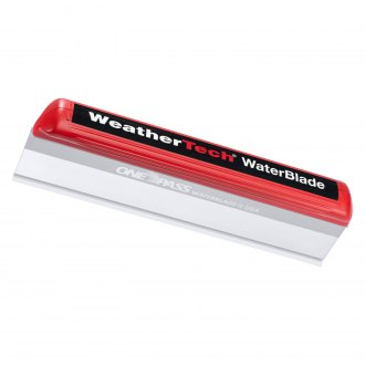 WeatherTech® - Red/Clear Silicone WaterBlade Squeegee