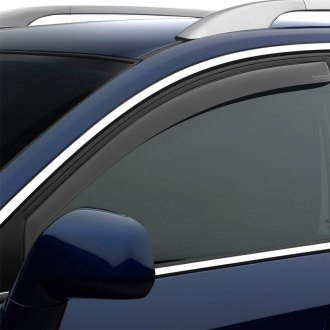 WeatherTech® - In-Channel Light Smoke Front Side Window Deflectors