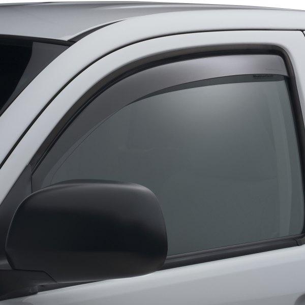 WeatherTech Custom Fit Rear Side Window Deflectors for Nissan Altima Light Smoke