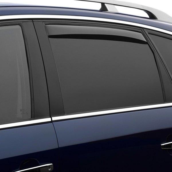 WeatherTech® - In-Channel Light Smoke Rear Side Window Deflectors