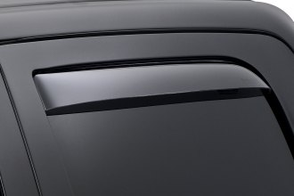 WeatherTech® - In-Channel Light Smoke Rear Side Window Deflectors