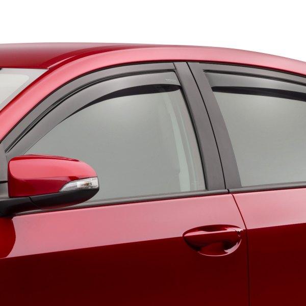 Toyota 2016 Corolla Side Window Deflectors Weather Tech