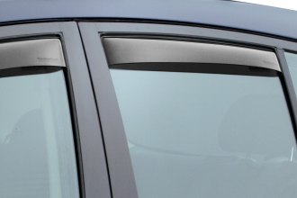 WeatherTech® - In-Channel Dark Smoke Rear Side Window Deflectors