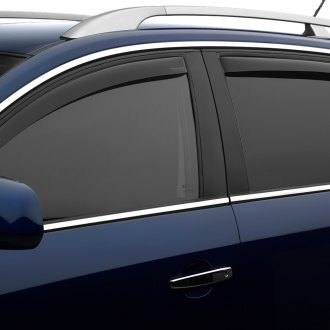 WeatherTech® - In-Channel Dark Smoke Front and Rear Side Window Deflectors