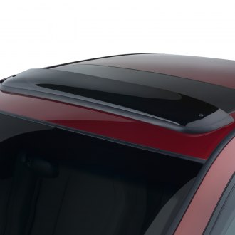"Smoke Tinted Sunroof Moonroof Wind Visor 980mm 38.5/"" For 2014-16 Toyota Corolla"