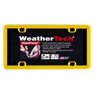WeatherTech® - ClearFrame™ License Plate Frame