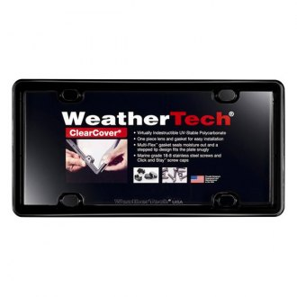 WeatherTech® - ClearCover™ License Plate Frame
