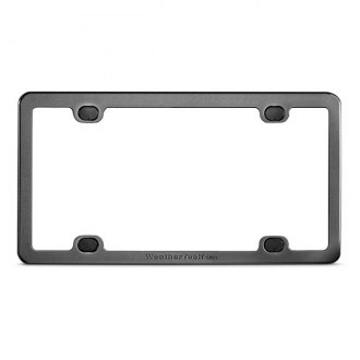 WeatherTech® Billet License Plate Frame - Black