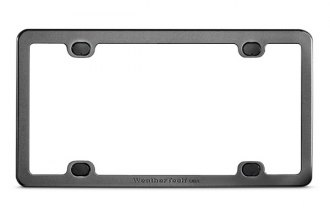 WeatherTech® - Billet License Plate Frame
