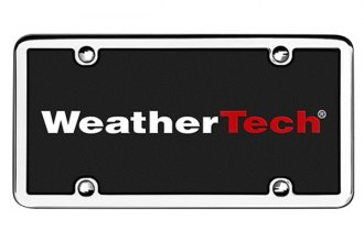 WeatherTech® - StainlessFrame License Plate Frame
