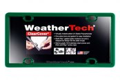 WeatherTech® - ClearCover License Plate Cover, Green