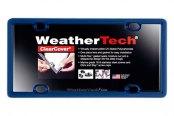 WeatherTech® - ClearCover License Plate Cover, Navy Blue