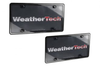 WeatherTech® 60020 - ClearCover™ License Plate Cover Kit (Black)