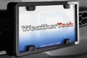 WeatherTech® - PlateFrame License Plate Frame on Car