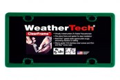 WeatherTech® - ClearFrame License Plate Frame, Green