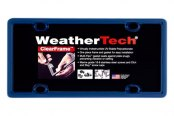WeatherTech® - ClearFrame License Plate Frame, Navy Blue
