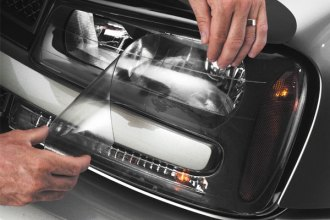 Image may not reflect your exact vehicle! WeatherTech� Headlight Protecting Covers on Chevy Traiblazer