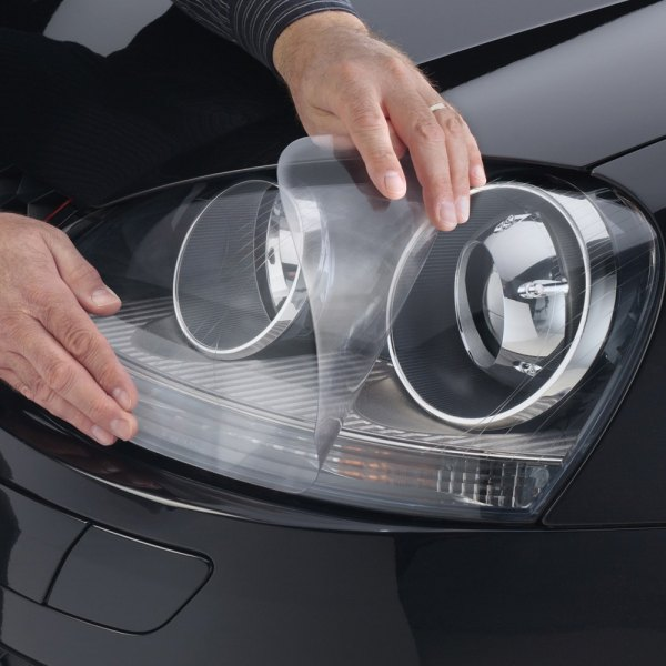 Image may not reflect your exact vehicle! WeatherTech® - LampGard Headlight Protecting Covers on Volkswagen Rabbit