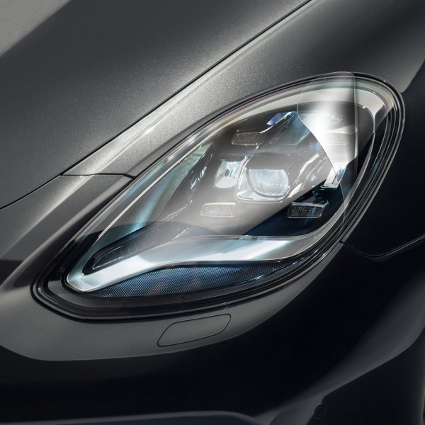 Image may not reflect your exact vehicle! WeatherTech® - LampGard Uncrew Headlight Protecting Covers on Porsche