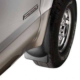 WeatherTech® - DigitalFit™ Front Black No-Drill Mud Flaps