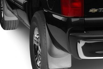 WeatherTech® 110006-120006 - DigitalFit™ Front and Rear Black No-Drill Mud Flaps