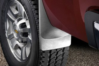 WeatherTech® 120010 - Black Rear DigitalFit™ No-Drill Mud Flaps