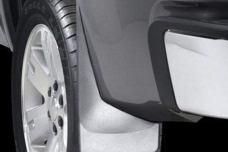 WeatherTech® 120012 - Black Rear DigitalFit™ No-Drill Mud Flaps