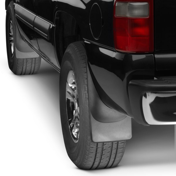 WeatherTech® - DigitalFit™ Black Mud Flap Kit