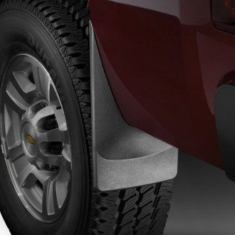 Image may not reflect your exact vehicle! WeatherTech® - DigitalFit™ No-Drill Mud Flaps