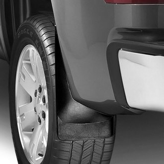 WeatherTech® - DigitalFit™ Black Mud Flaps
