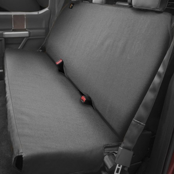Image may not reflect your exact vehicle! WeatherTech® - 2nd Row Black Seat Protector