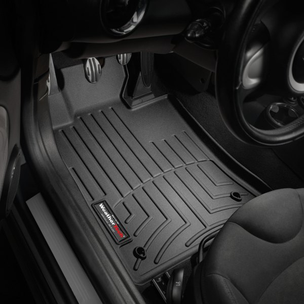 WeatherTech  441361  Custom Fit Front FloorLiner for Mini Cooper Black