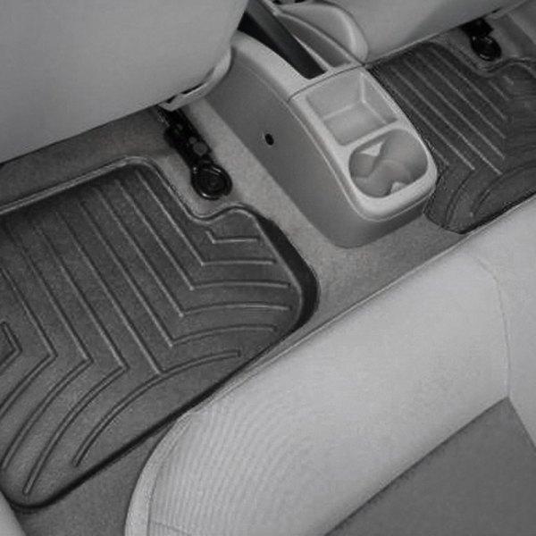 Black WeatherTech Custom Fit Rear FloorLiner for Chevrolet Cobalt//Pontiac G5 441982