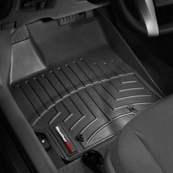 WeatherTech Custom Fit Front FloorLiner for Toyota Prius Grey 462561