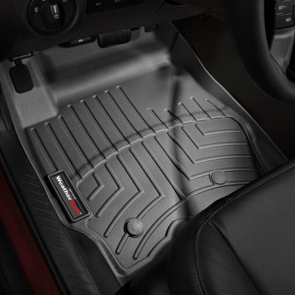 1st Row, Black 443541 WeatherTech DigitalFit™ Molded Floor Liners