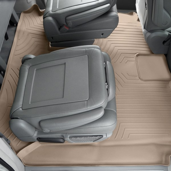 Grey WeatherTech First and Second Row FloorLiner 460031-460622