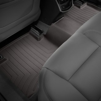 WeatherTech® - DigitalFit™ 2nd Row Cocoa Molded Floor Liner