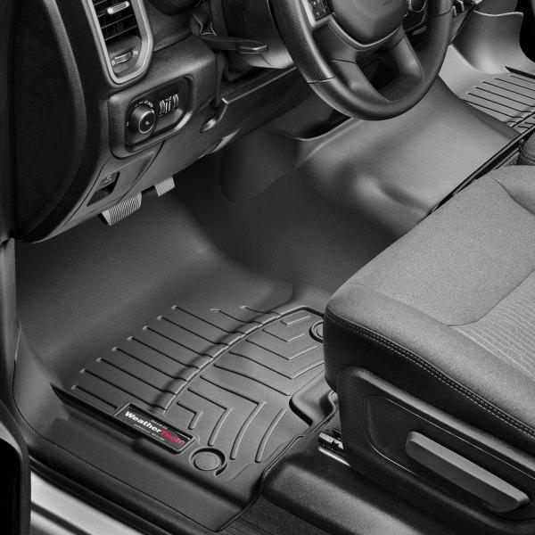 WeatherTech FloorLiner Mats for 2019 Dodge RAM Truck 1500 1st Row