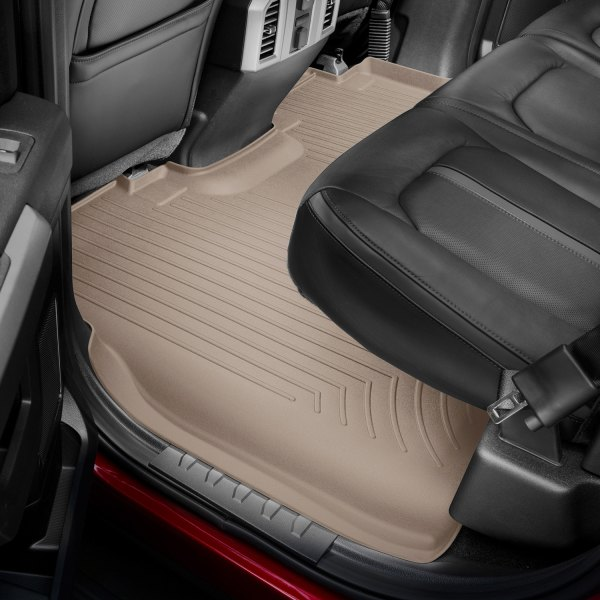 WeatherTech First and Second Row FloorLiner Tan