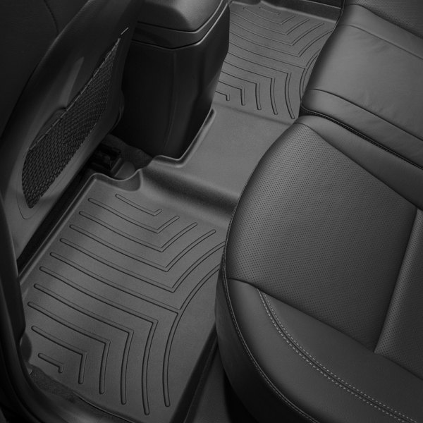 2nd /& 3rd Row Passenger 4 Piece Floor Mats GGBAILEY D3685A-LSA-GY-LP Custom Fit Car 2004 2005 Ford Excursion Grey Loop Driver