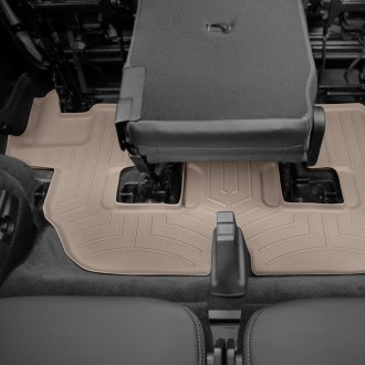 WeatherTech® - DigitalFit™ 3rd Row Tan Molded Floor Liner