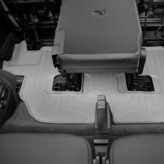 WeatherTech® - DigitalFit™ 3rd Row Gray Molded Floor Liner